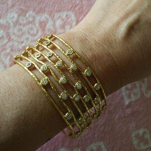 Melinda Maria Adjustable Cuff Bracelet